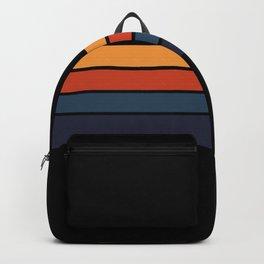 Classic Retro Stripes Design Backpack