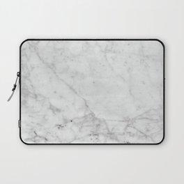 White Marble #629 Laptop Sleeve