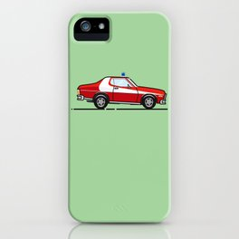 Starsky 7 Hutch Ford Torino iPhone Case