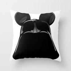 Darth Mickey  Throw Pillow