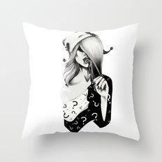 Gotham Masquerade II Throw Pillow