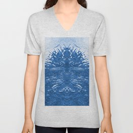 Sea water abstraction Unisex V-Neck