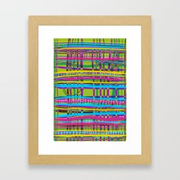 Track Interchange* Framed Art Print