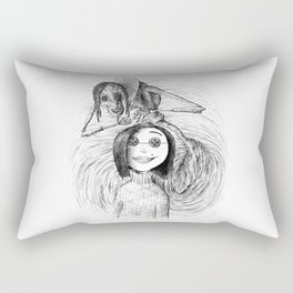 The Other Mother Rectangular Pillow