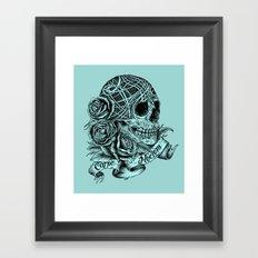 Carpe Noctem (Seize the Night) Framed Art Print