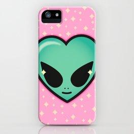 Alien cutie iPhone Case