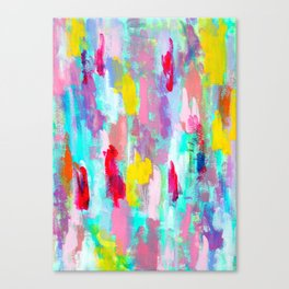 Floral Dream - impressionism abstract modern Canvas Print