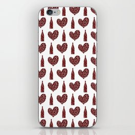 Wine Lover Pattern iPhone Skin