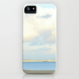 no one else......(smiles) iPhone Case