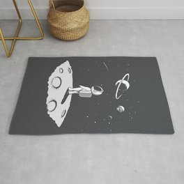 Little Astronaut looks to Universe at the Planet Rug