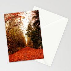 canopy of trees Stationery Cards