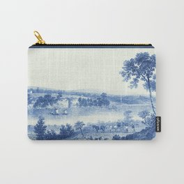 Lake Champlain 1850 (Cyanotype) Carry-All Pouch
