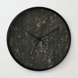 Whistler's Curtains Wall Clock