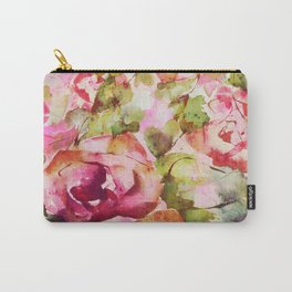 roses abstraites Carry-All Pouch