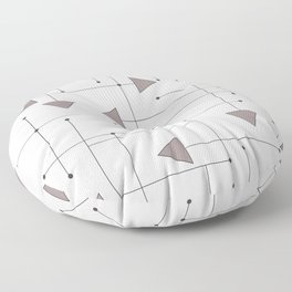 Lines & Arrows Floor Pillow