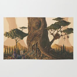 The Ancient Heart Tree Rug