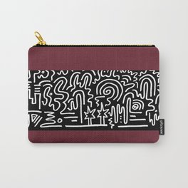Clean Stripe (Brick) Carry-All Pouch