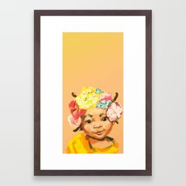 I'm Princess, too Framed Art Print