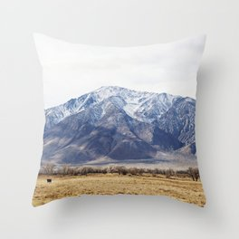 Sierras Throw Pillow