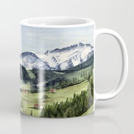 Landscape in the Alps Coffee Mug