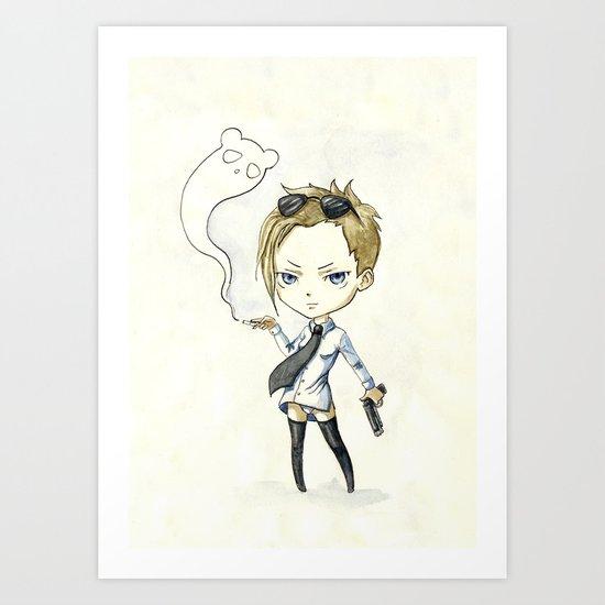 Hitgirl Art Print