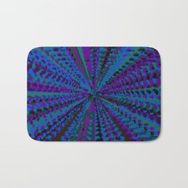 purple blue and green painting abstract background Bath Mat
