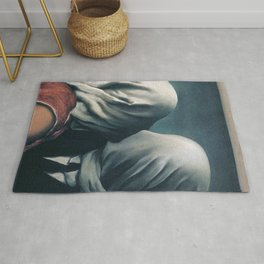 The Lovers by Rene Magritte Rug