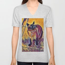 Hey, What About Me? Unisex V-Neck