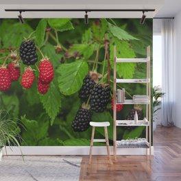 Wild Berries Wall Mural