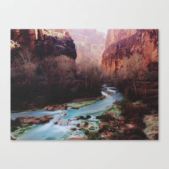 Havasu Canyon Creek Canvas Print