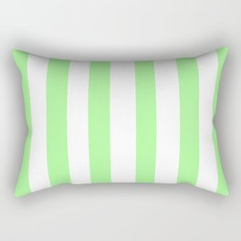 Vintage Victorian Style Light Green Stripes Rectangular Pillow