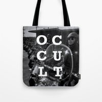 occult Tote Bags featuring Occult by Mario Zoots