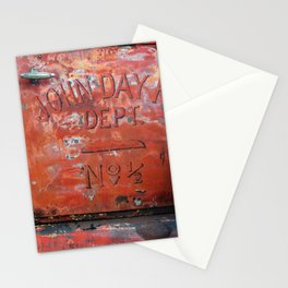John Day Fire Dept Stationery Cards
