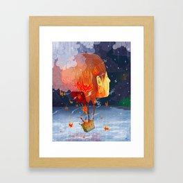 Airy-fairy Framed Art Print