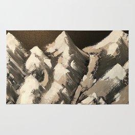 Silver Mountains Rug