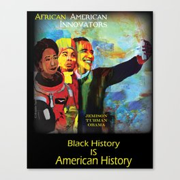 African American Innovators Canvas Print
