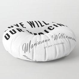 63 |  Marianne Williamson Quotes | 190812 Floor Pillow