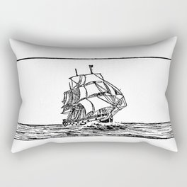 Battleship Rectangular Pillow