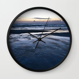 Blue Call of the Sea Wall Clock