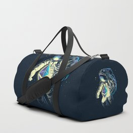 Space Ethereum - Navy Version Duffle Bag