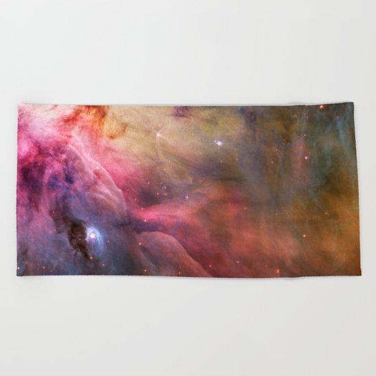 Orion Nebula Beach Towel