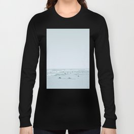 Tiny Surfers in Lima Illustrated Long Sleeve T-shirt