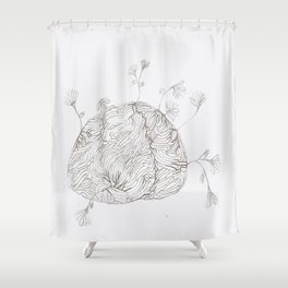 Your Mind is a Garden  Shower Curtain