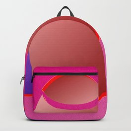 The pushovers on pink ... Backpack