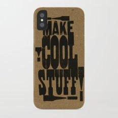MAKE COOL STUFF!!!! iPhone X Slim Case