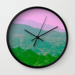 Palm Springs Mountains IV Wall Clock