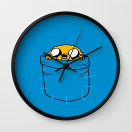 Jake In Poket Wall Clock