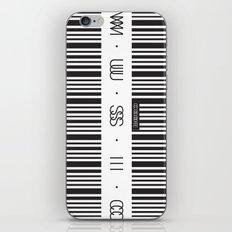 Music Code iPhone & iPod Skin