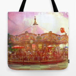 Merry Go Round Tote Bag