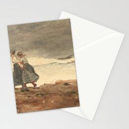 Winslow Homer's Danger (1887) Stationery Cards